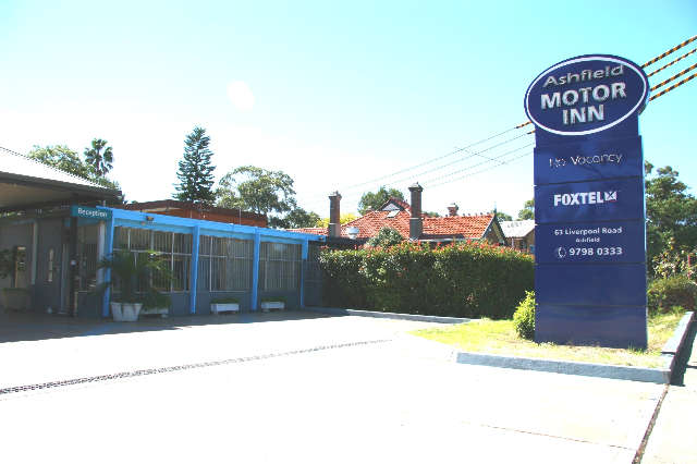 Ashfield Motor Inn - Sydney Tourism