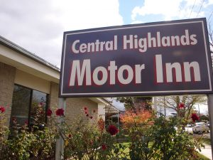 Central Highlands Motor Inn - Sydney Tourism