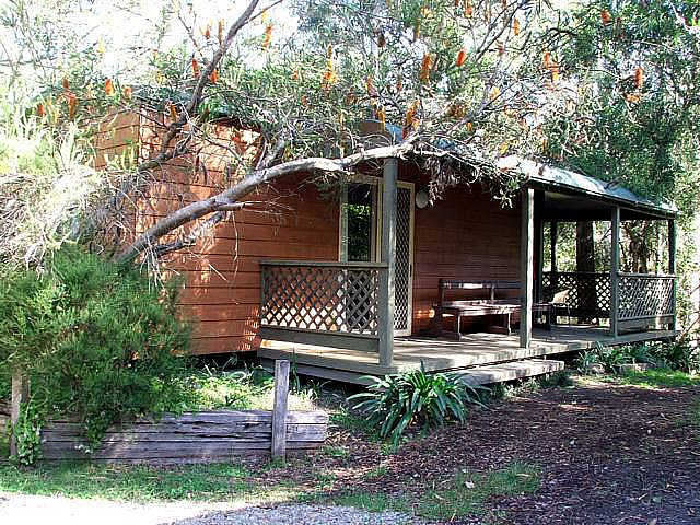 Jervis Bay Cabins  Hidden Creek Campsite - Sydney Tourism