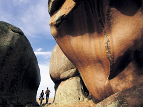 Murphy's Haystacks - Ancient Granite Rock - Sydney Tourism