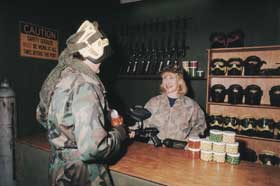 Indoor Skirmish - Paintball Sports - Sydney Tourism