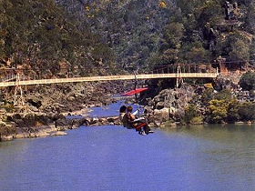 Launceston Cataract Gorge  Gorge Scenic Chairlift - Sydney Tourism