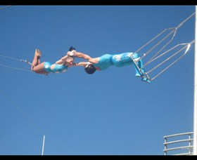 Trix Circus Flying Trapeze - Sydney Tourism