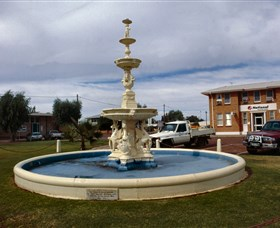 Cunnamulla War Memorial Fountain - Sydney Tourism