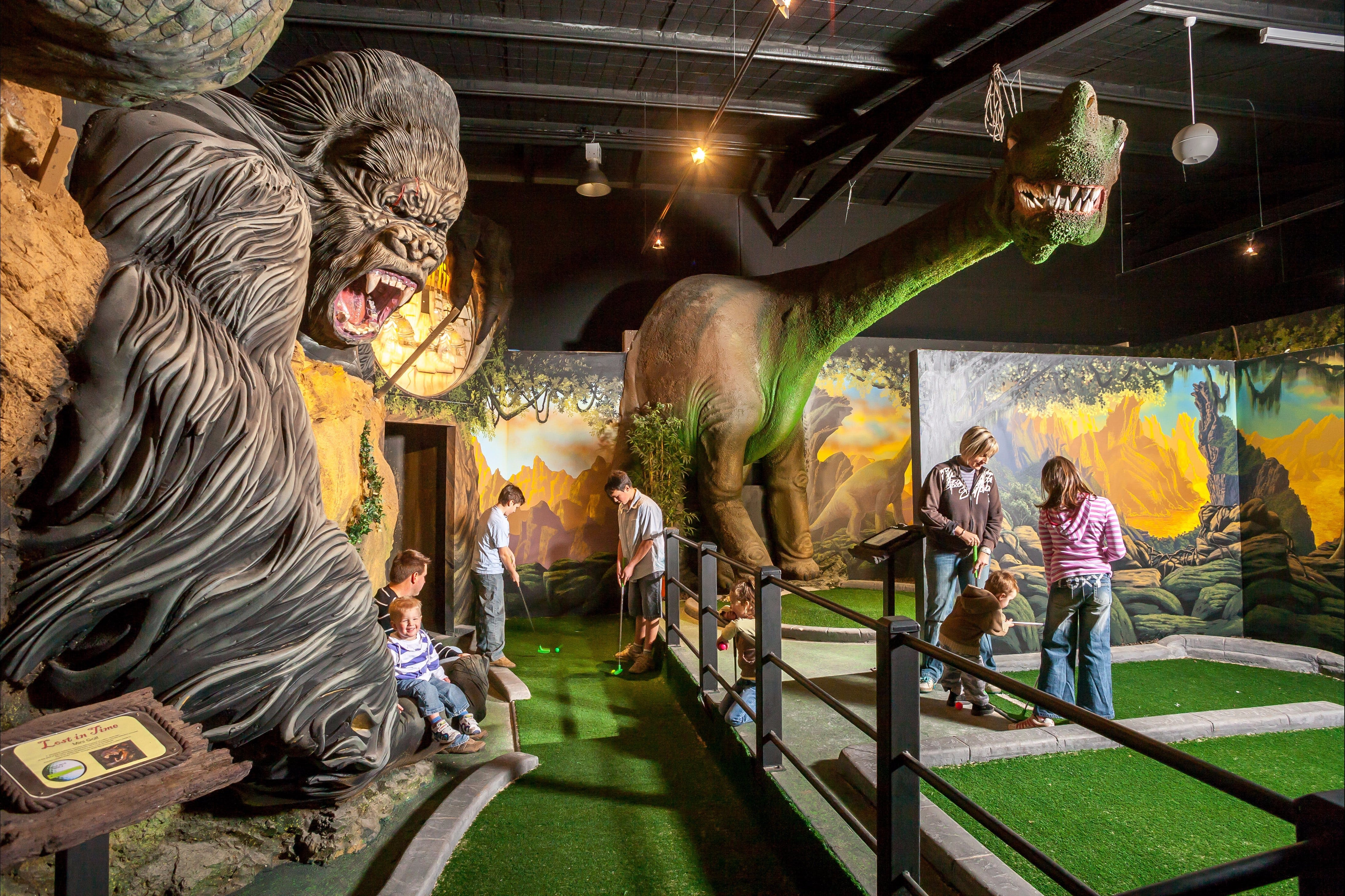 Gold Rush Mini Golf - Sydney Tourism