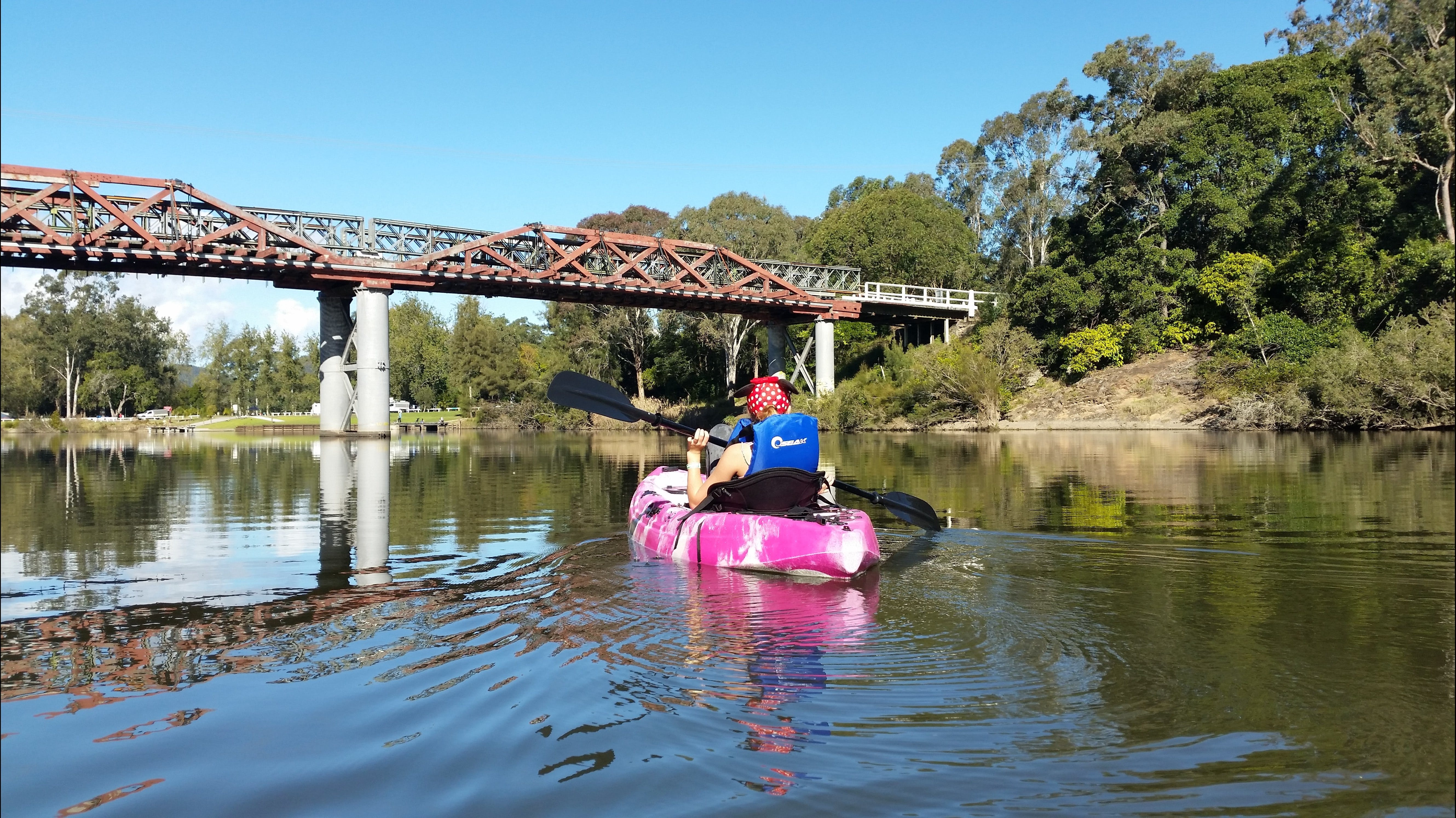 Canoeing at Clarence Town - Sydney Tourism