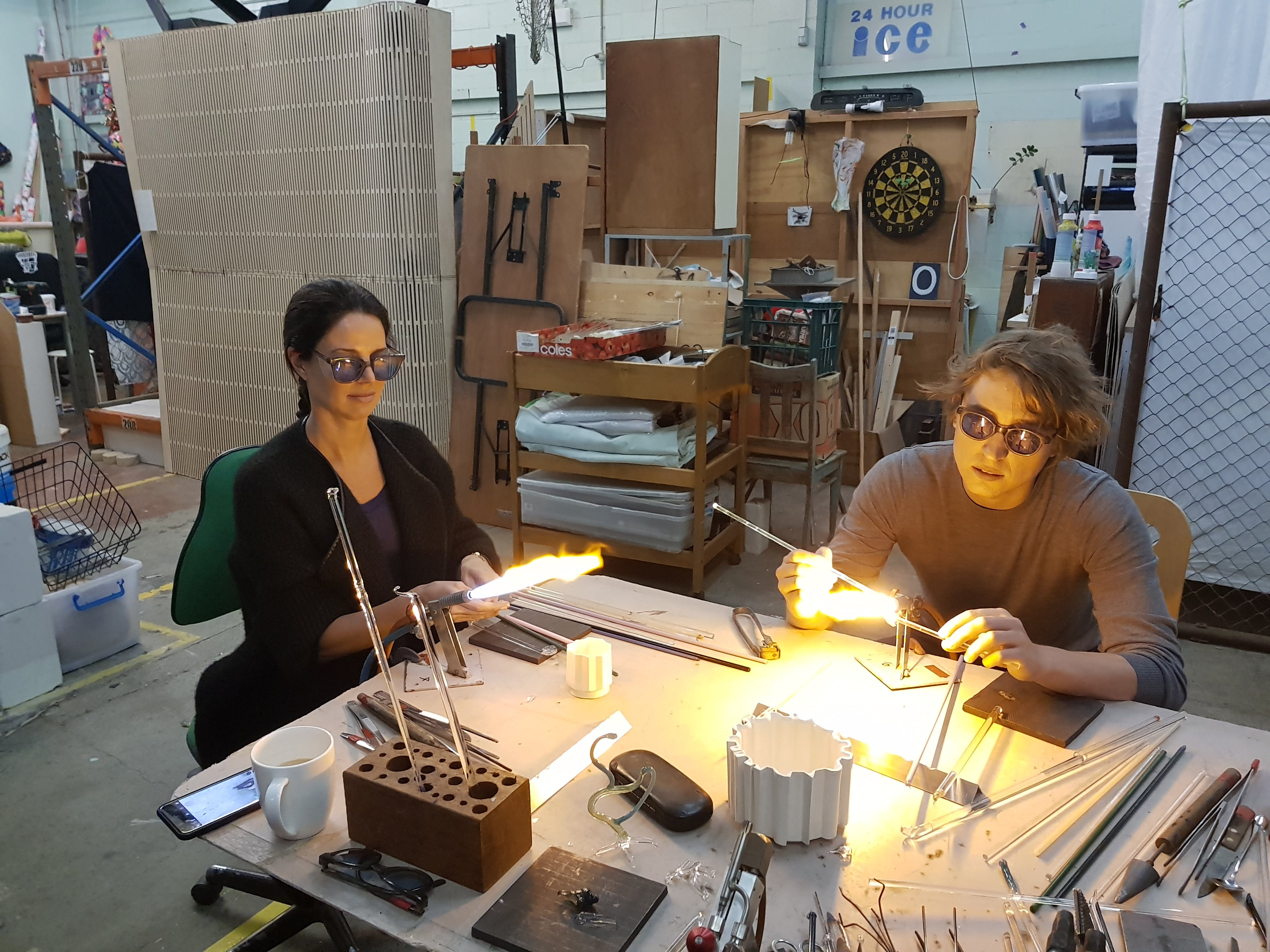 Glass Blowing Beginners Workshop Weekend - Sydney Tourism