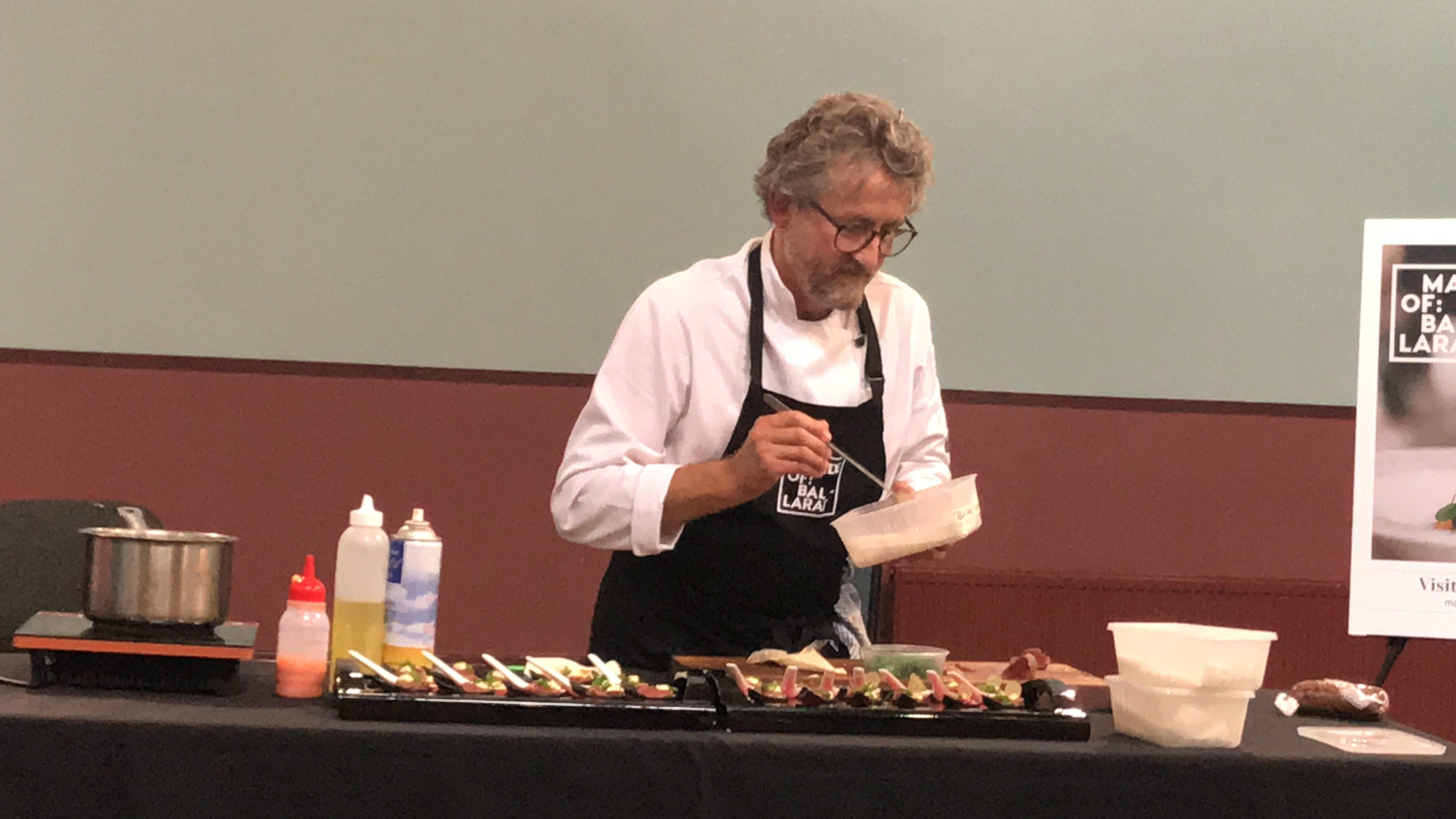 Masterclasses with Peter Ford Catering Inglenook Dairy - Sydney Tourism