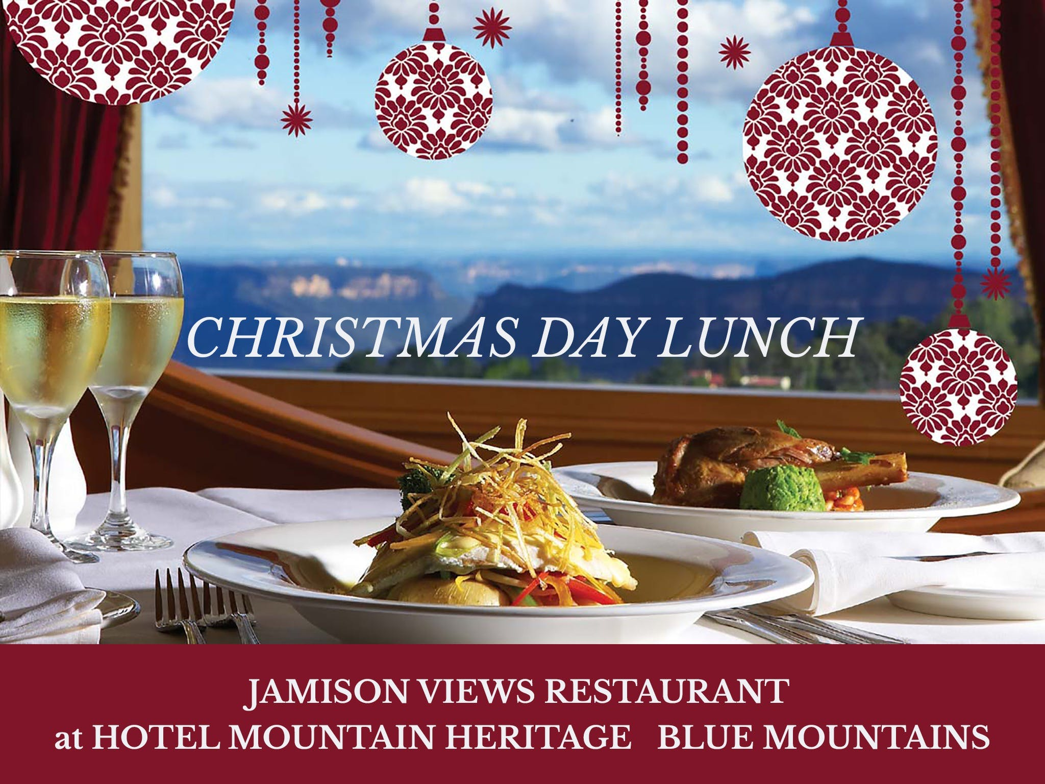 Christmas Day Lunch Hotel Mountain Heritage - Sydney Tourism