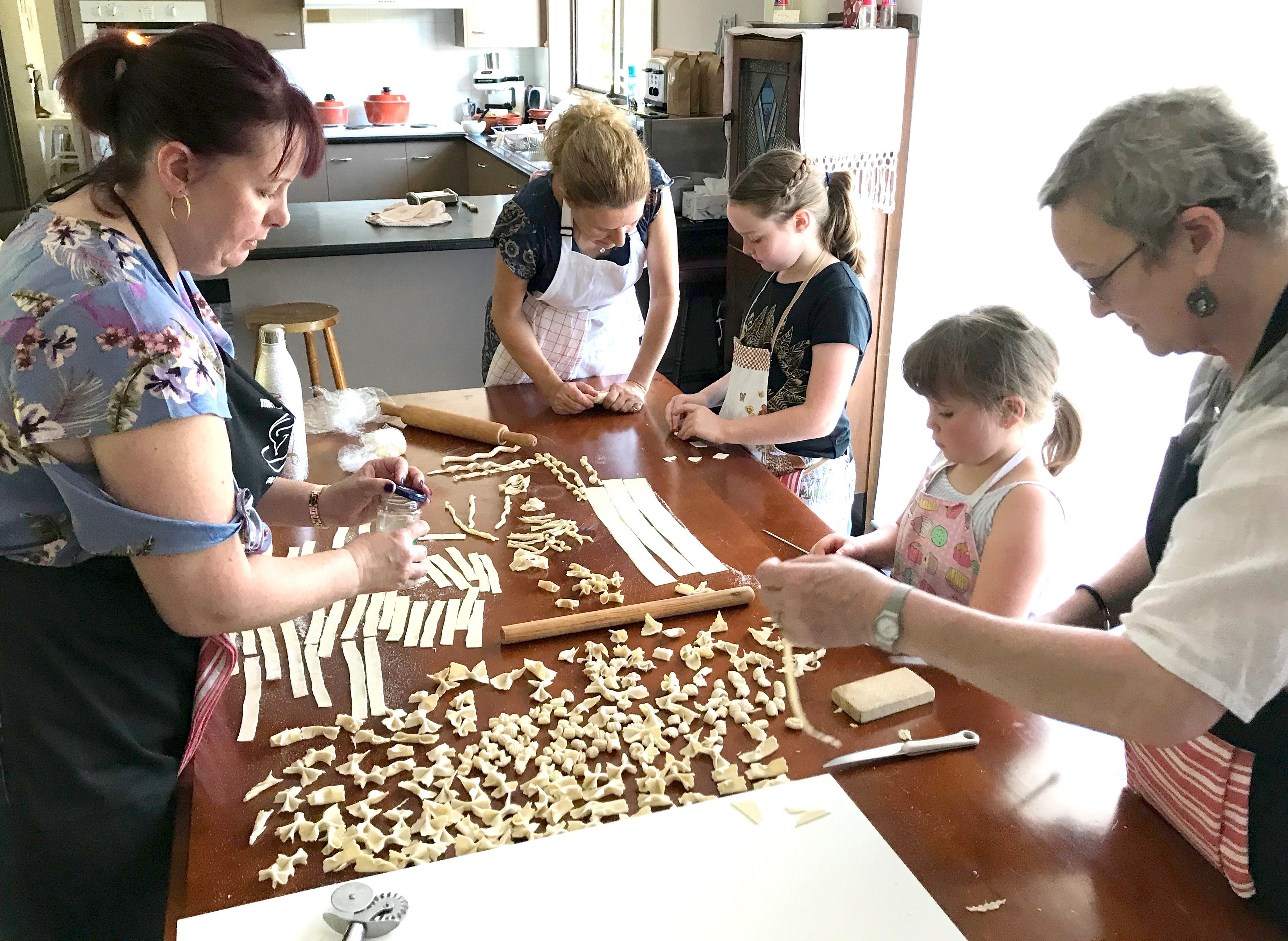 Kids Pasta Making Class - hands on fun at your house - Sydney Tourism