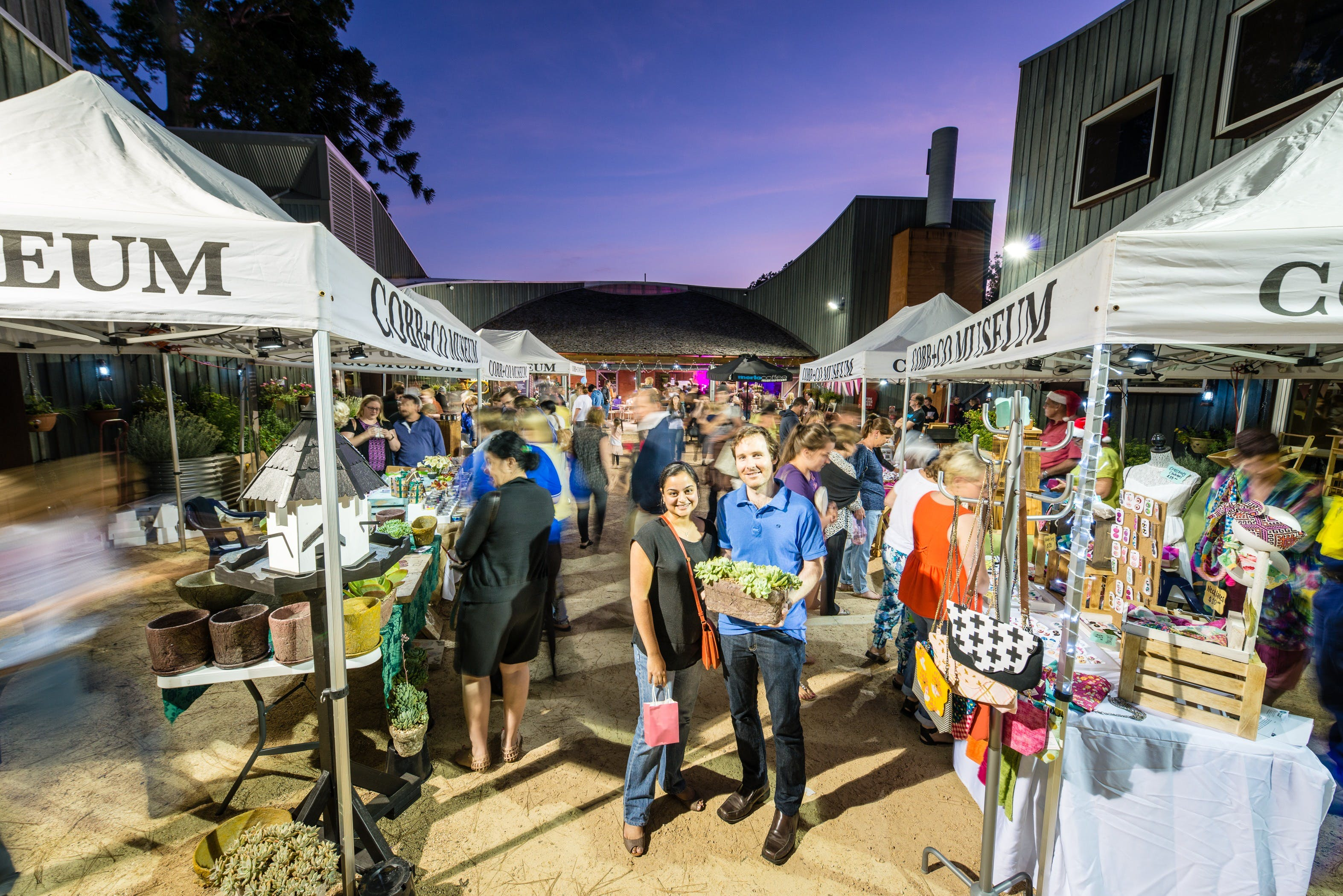 Hand Made Under the Stars - Twilight Market - Sydney Tourism