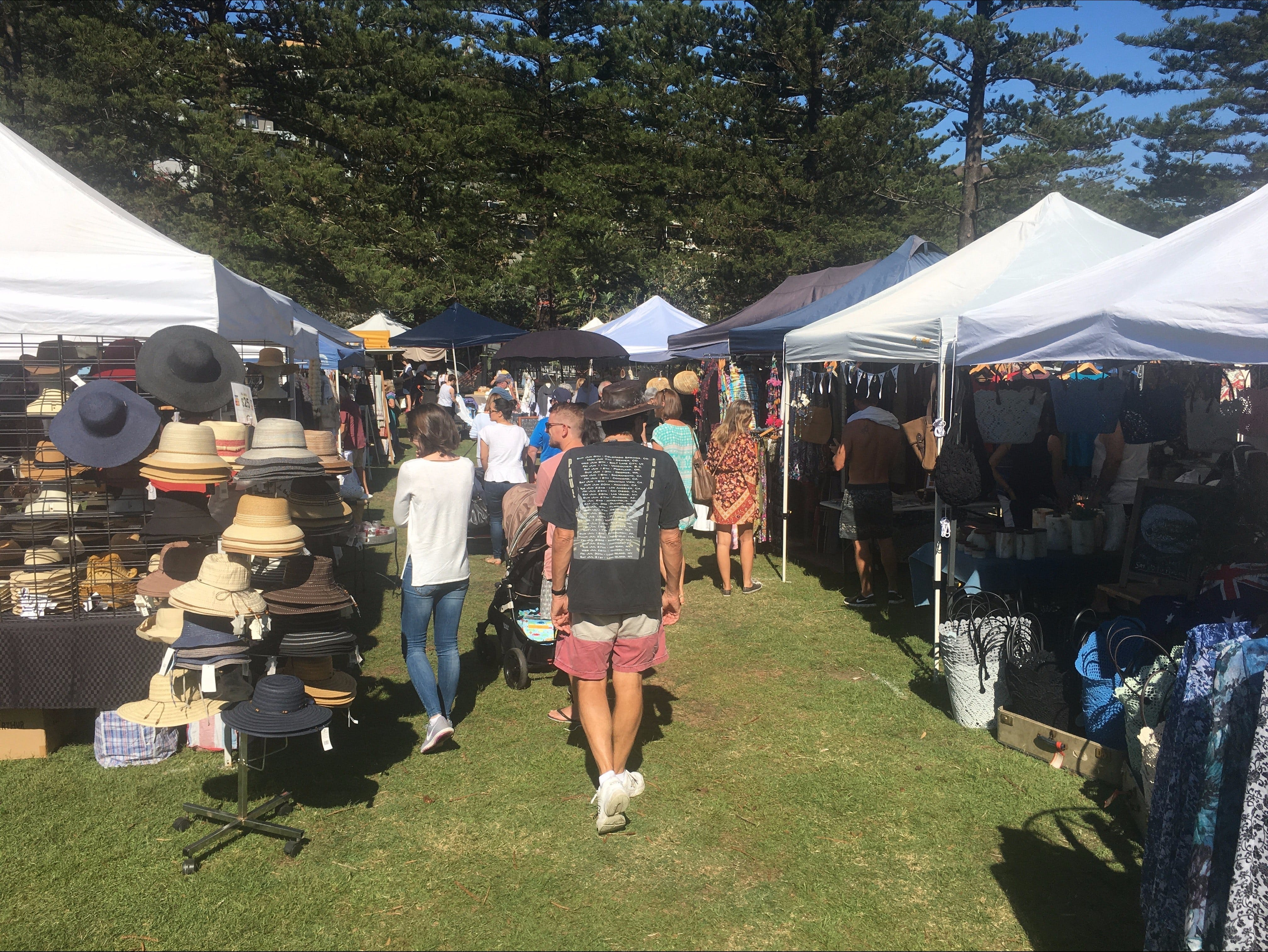Palm Beach Market - Sydney Tourism