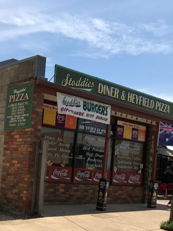 Stoddies Diner  Heyfield Pizza - Sydney Tourism