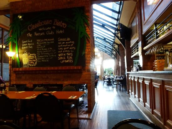 The Glasshouse Bistro - Sydney Tourism