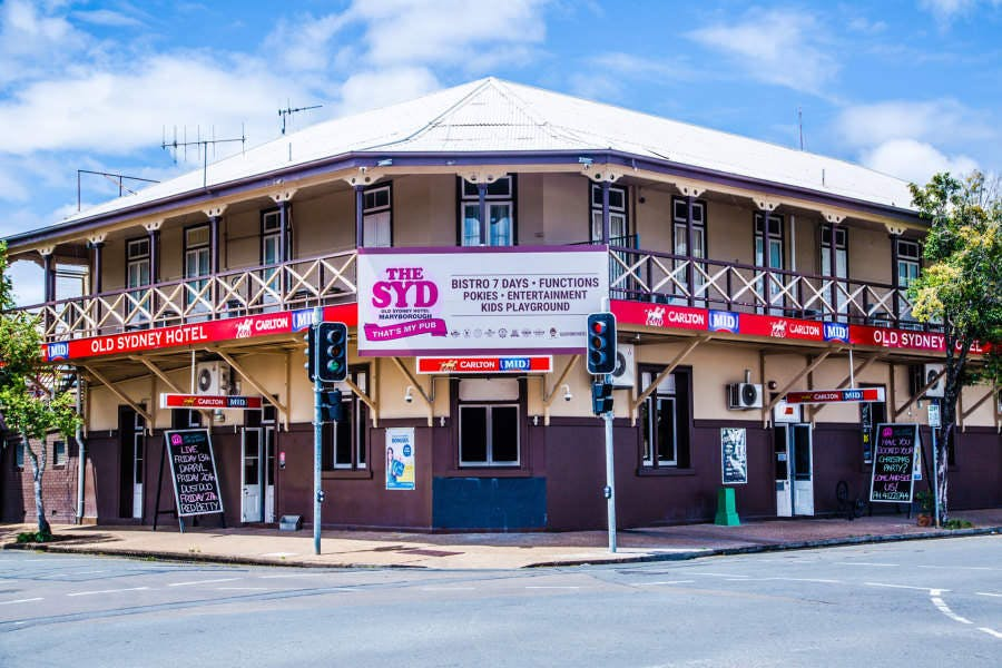 Old Sydney Hotel - Maryborough - Sydney Tourism