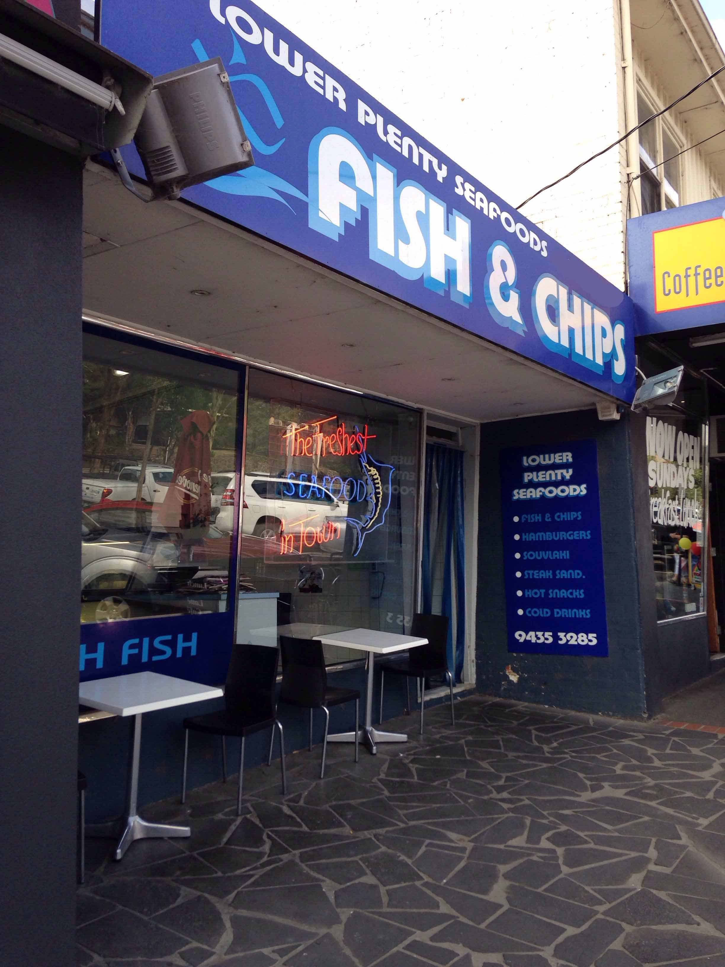 Lower Plenty Seafood - Sydney Tourism