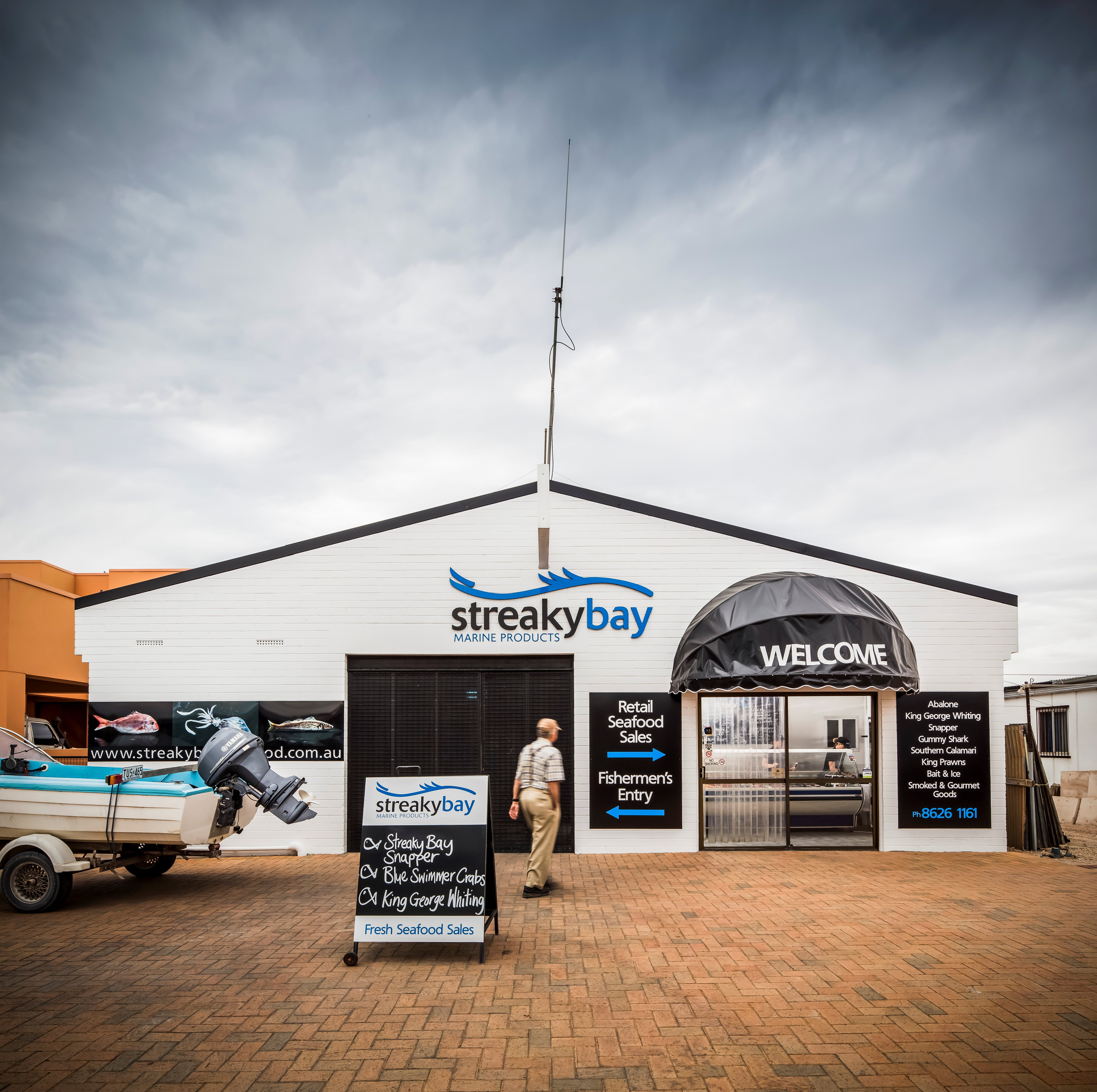 Streaky Bay Marine Products - Sydney Tourism
