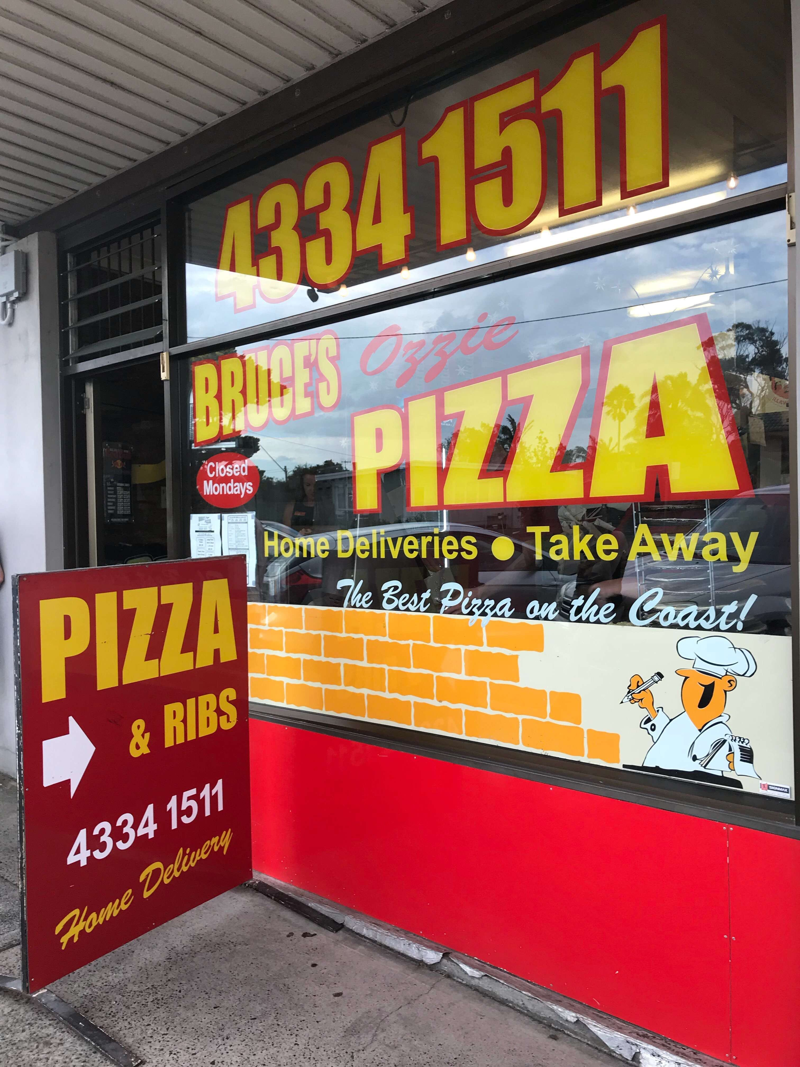 Bruces Ozzie Pizza - Sydney Tourism