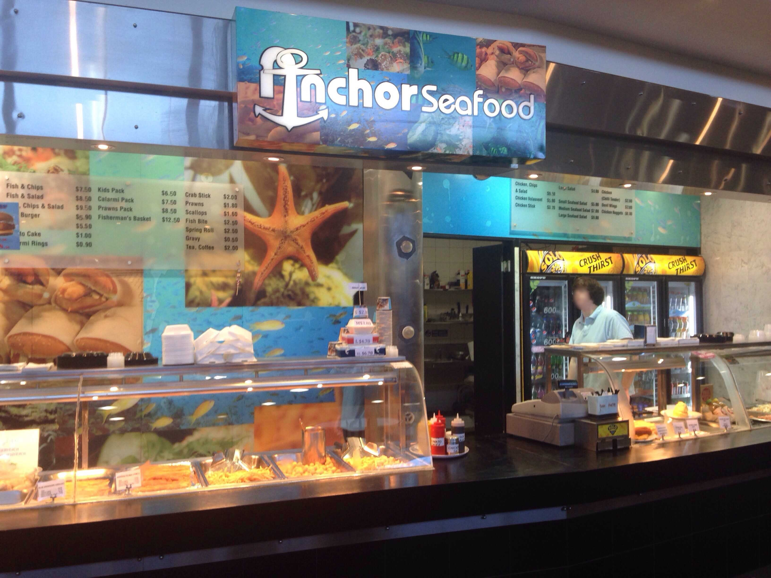 Anchors Seafood - Sydney Tourism