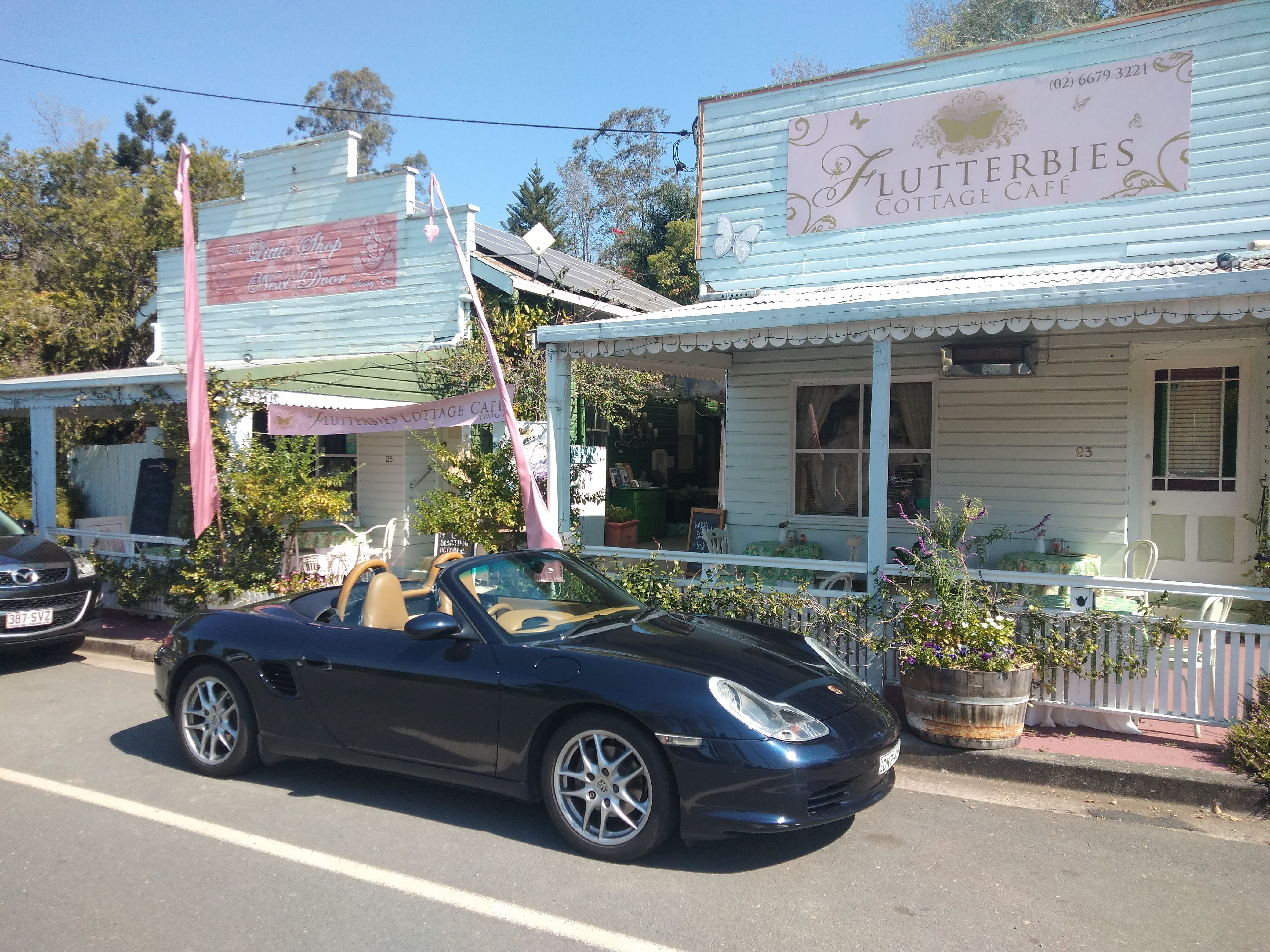 Flutterbies Cottage Cafe - Sydney Tourism
