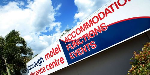 Maryborough Motel  Conference Centre - Sydney Tourism