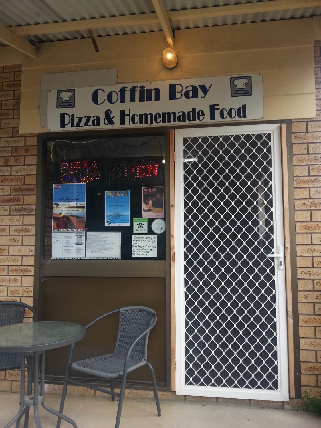Coffin Bay Pizza & Homemade Food