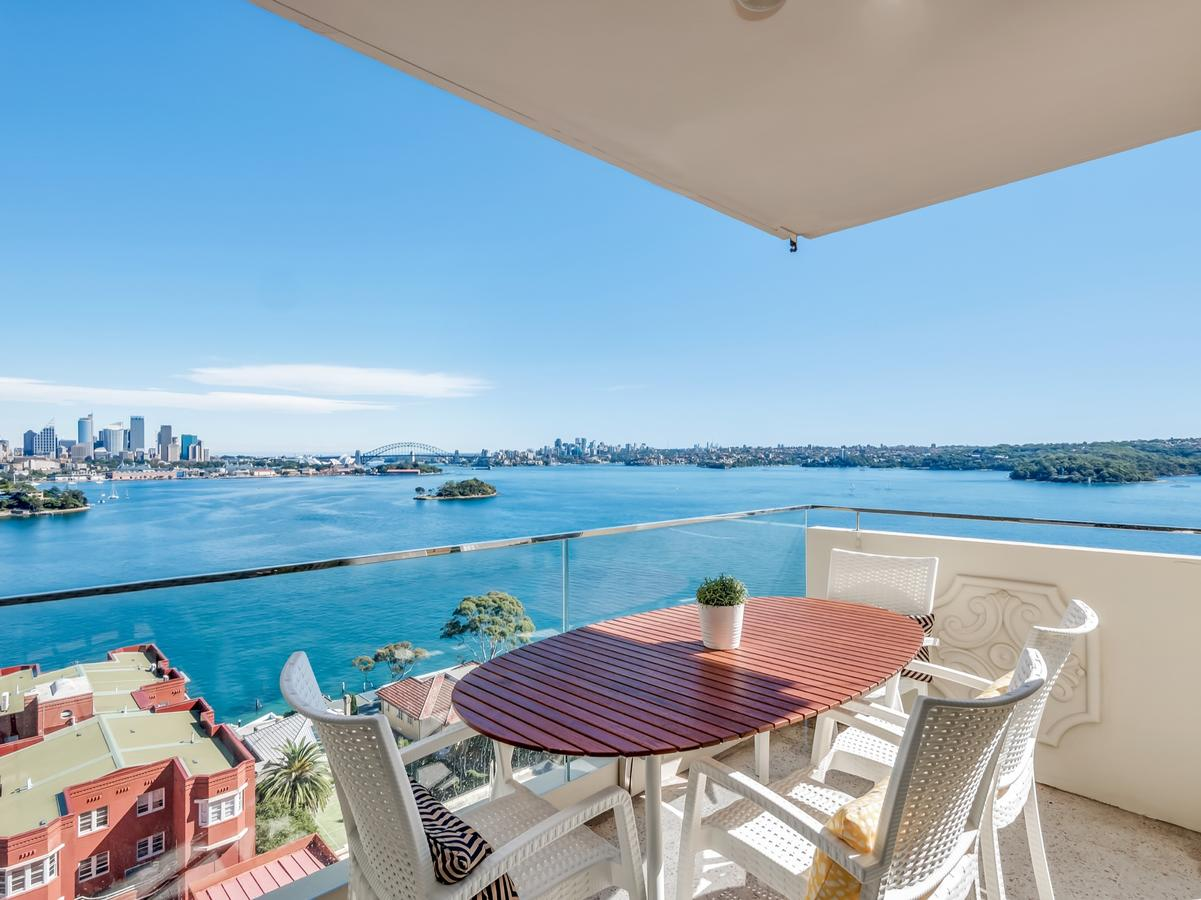 Panoramic harbour views and unbeatable comfort Point Piper