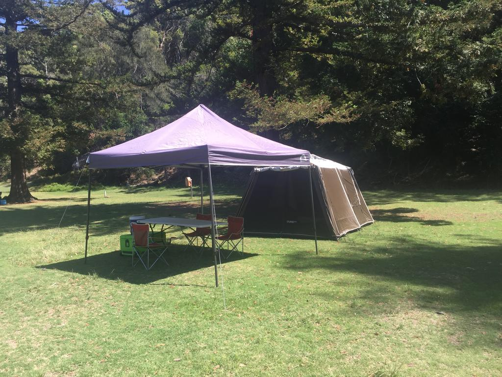 Basin Ku-ring-gai Campsite Set Up - Sydney Tourism